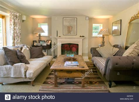 photos of living rooms with two sofas contemporary living room with two opposing sofas stock
