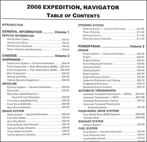 where to buy car manuals 2008 ford expedition el auto manual 2008 expedition navigator repair shop manual 2 volume set original