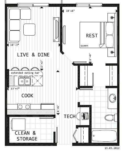 Garage Conversion Floor Plans