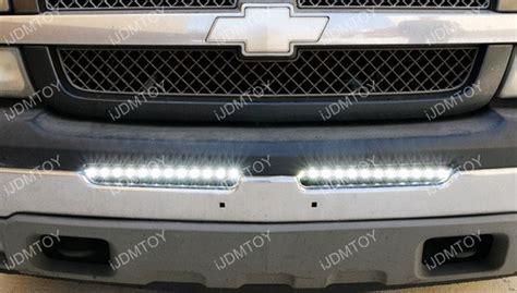 2004 silverado light bar 100w high power led light bar for chevrolet 1500 2500hd