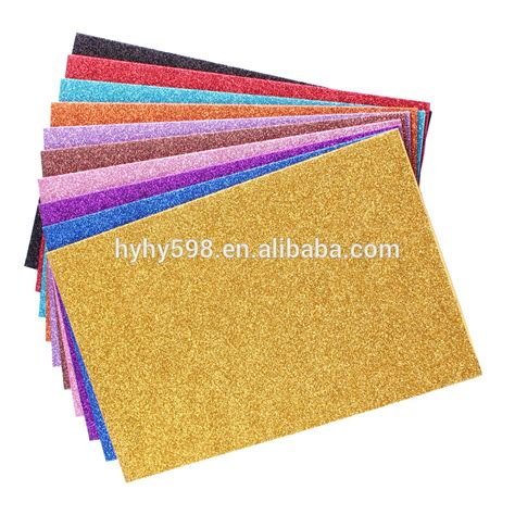 Foam Paper Crafts - 15091219 wholesale eco friendly craft glitter foam