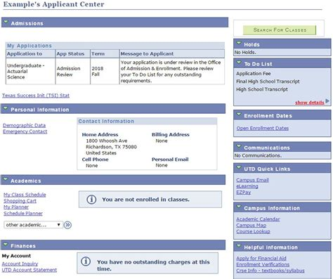 Ut Check Application Status Mba application status the of at dallas
