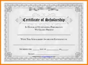 4 scholarship certificate samples sample of invoice