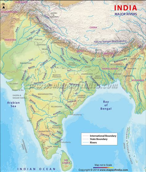 river map river map of india india rivers
