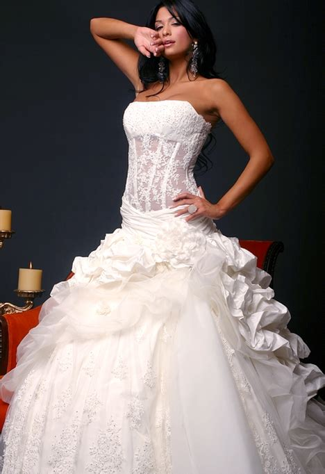 Wedding Dresses Corset by The Sensuality Of Corset Wedding Gowns