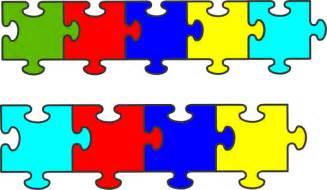 autism puzzle template autism puzzle template clipart best