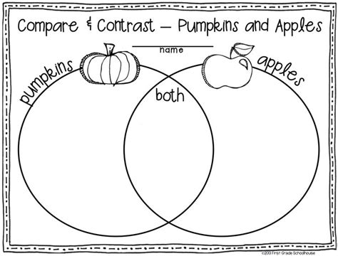 fall activities for graders writing through