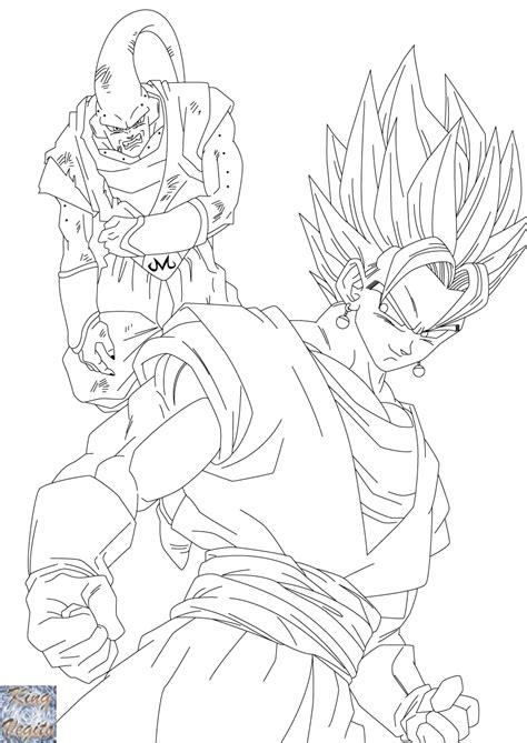 dragon ball z coloring pages vegito dragon ball z super vegito coloring pages sketch coloring