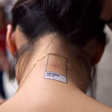 tattoo on back of neck tumblr tattly tattoos give you hipster cred without the needles