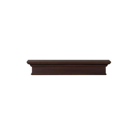 Distressed Mantel Shelf by The Shenandoah 5 Ft Medium Rustic Distressed Cap Shelf
