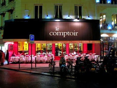 Le Comptoir Du Monde by Le Comptoir Du Relais Restaurant Fran 231 Ais