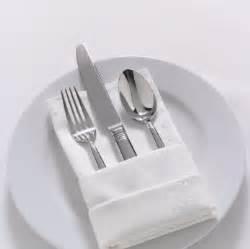 How to fold dinner napkins