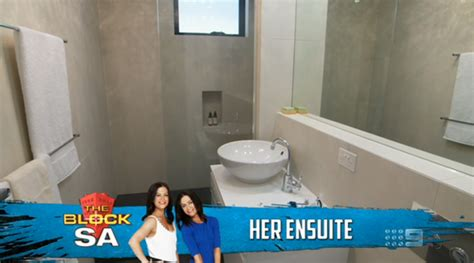 the block bathrooms 2013 the block sky high 2013 room reveal 2 his her