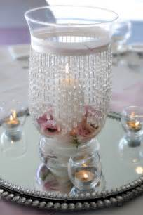 hurricane vase wedding centerpieces