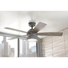 weathered grey ceiling fan ge treviso 52 in rubbed bronze indoor led ceiling fan