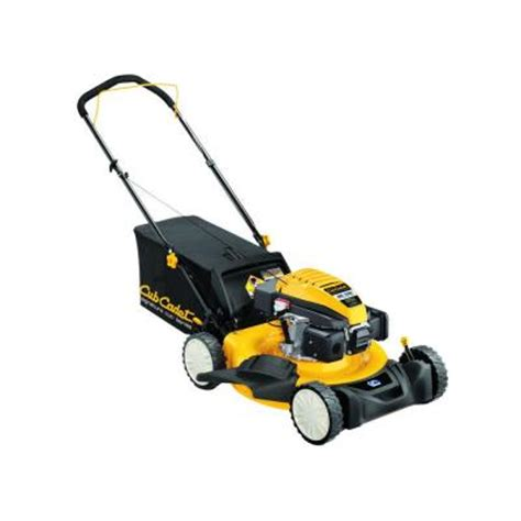 cub cadet sc100 21 in 159 cc gas walk lawn mower