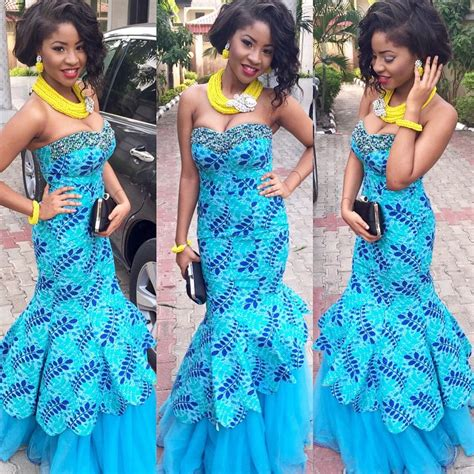 latest lace styles 2017 for owambe guests to blast 1198 photos of nigerian styles with lace dresses in 2017