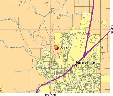 zip code map vacaville ca california map vacaville