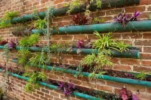 Sustainable Backyard Design Copper Vertical Garden Contemporary Landscape Perth