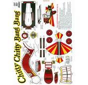 Chitty Bang  Free Paper Toys And Models At