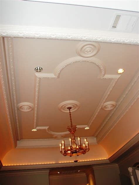 Plaster Of Designs For Ceiling by Plaster Ceiling Pattern Traditional Bedroom Dallas