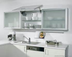 kitchen cabinets with frosted glass quicua