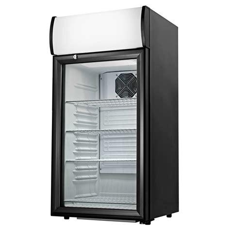 Countertop Refrigerator - cecilware ctr2 68ld black countertop display refrigerator