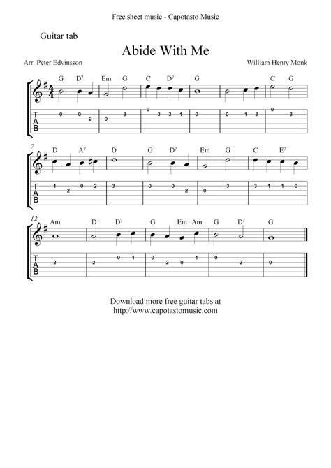 Christian Hymns Guitar Tabs