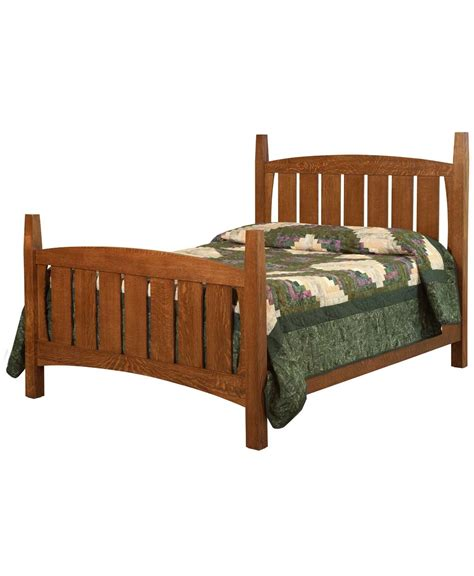 mission bed jadon mission bed amish direct furniture