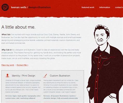about me page template 15 great quot about me quot page design exles pixel curse
