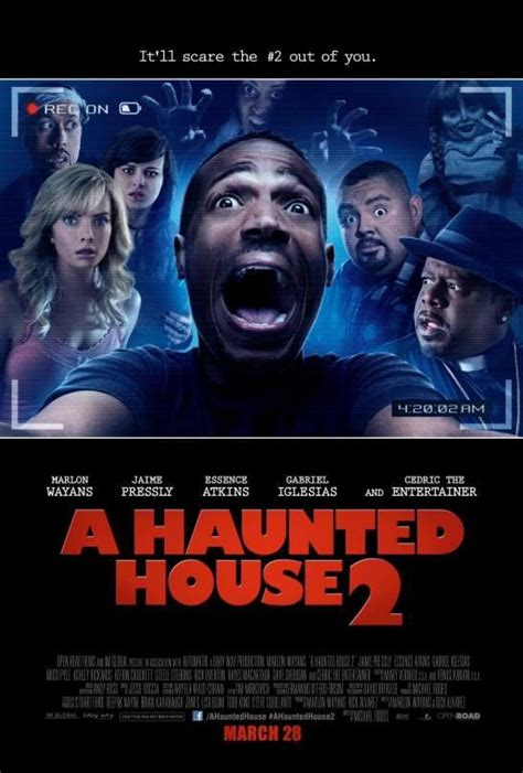 New Poster For A Haunted House 2