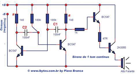 transistor 2n3055 potencia esquema de sirene de tom cont 237 nuo bc 547