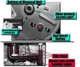 how to repair a garbage disposal vibration leak dengarden