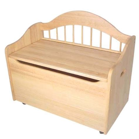 toy bench toy box bench natural kidkraft toyboxes kids furniture childrens