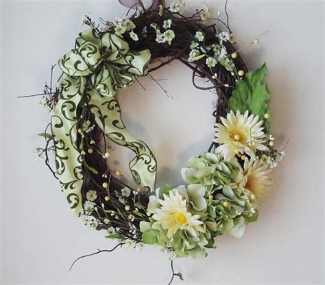 spring wreaths for front door unavailable listing on etsy