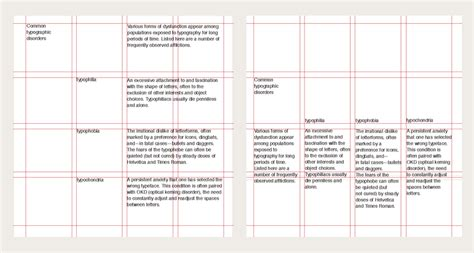 typography grid system graphic design graphic design 2 part 1