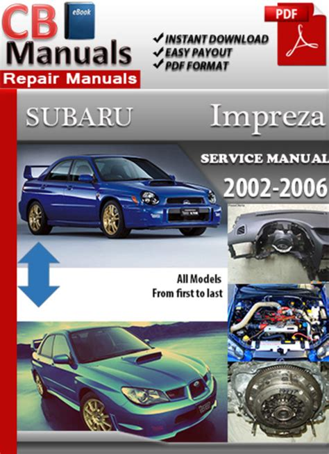 Subaru Impreza 2002 2006 Online Service Repair Manual