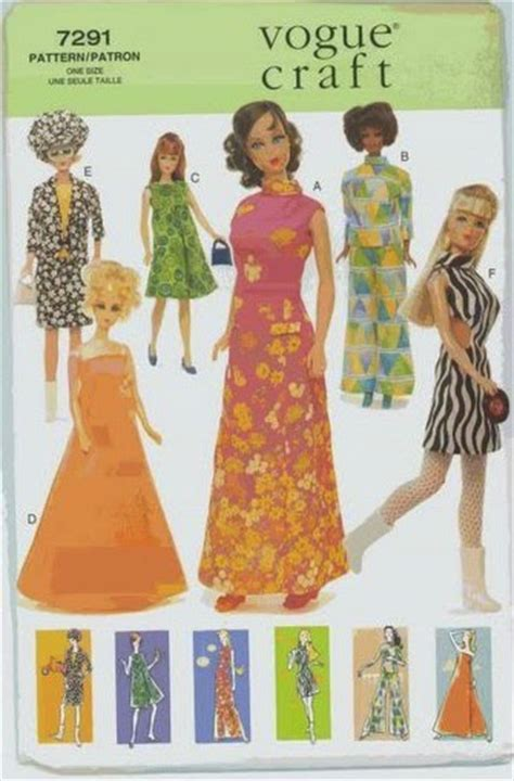 vogue pattern numbers herbie s doll sewing knitting crochet pattern