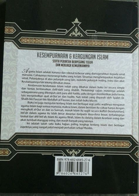 Kesempurnaan Dan Keagungan Islam Syarah Fadhlul Islam buku syarah fadhlul islam kesempurnaan keagungan islam toko muslim title