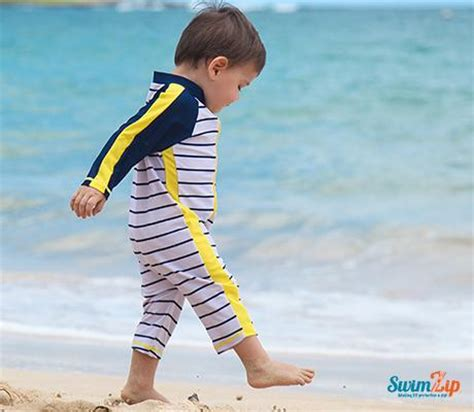 spf swimwear for babies baby one sun suits swimzip 174 upf 50 sun protective