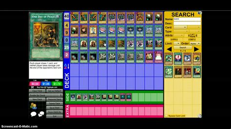 Spell Counter Deck by Dueling Network Profile Exodia Spell Counter Deck