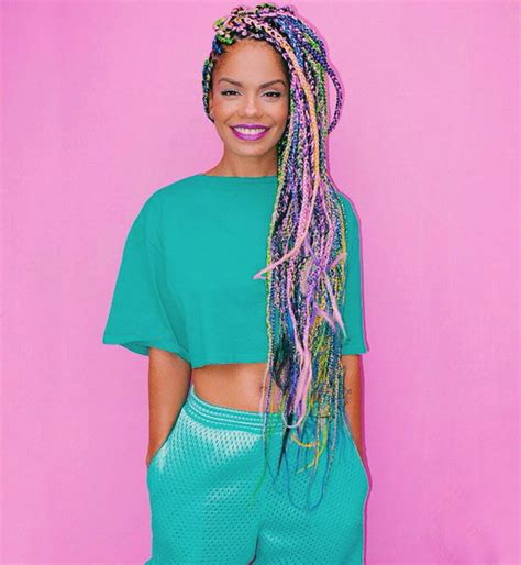 colored box braids 12 of the dopest box braids on un ruly