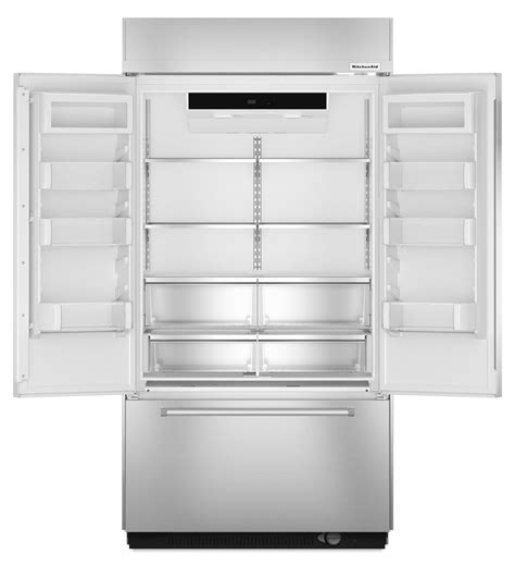 kitchenaid built in 36 kitchenaid 20 8 cu ft built in stainless door