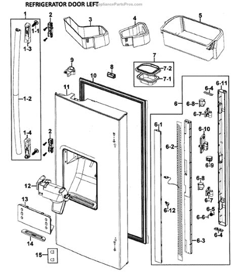 samsung refrigerator maker parts diagram samsung da97 05253a assy appliancepartspros