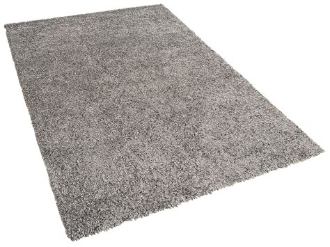 Fluffy Area Rugs Rug Area Rug Living Room Shaggy Fluffy Polyester Silver Grey 80x150 Ebay