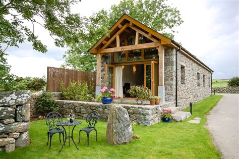 unique self catering barn conversion on a working