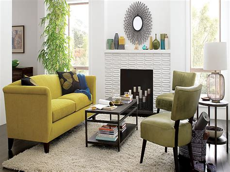 yellow living room furniture home and interior