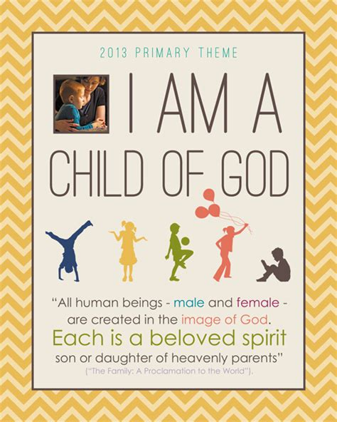 themes in god help the child coming soon 2013 lds primary theme monthly posters