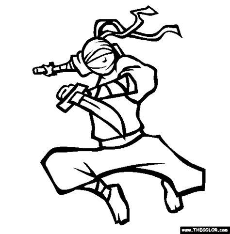 ninja outline coloring page ninja nick coloring page free ninja nick online coloring