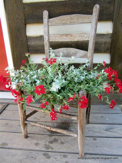 hometalk  junk chair repurposed   garden planter